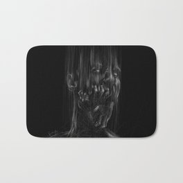 Dark Portrait Bath Mat