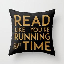 Hamilton Reads Throw Pillow