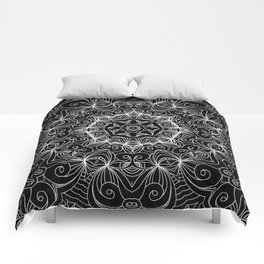 Drawing Floral Doodle G10 Comforters