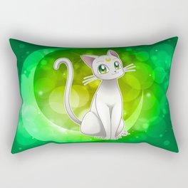 Artemis (Sailor Moon Crystal edit.) Rectangular Pillow