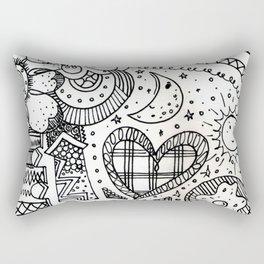 doodles by beccasartsycorner Rectangular Pillow