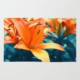Summer Lilies I Rug