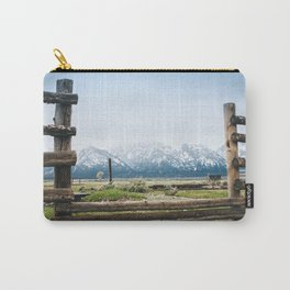 Backyard in Yellowstone Carry-All Pouch