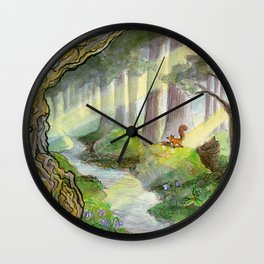 Forest of Ithilien Wall Clock