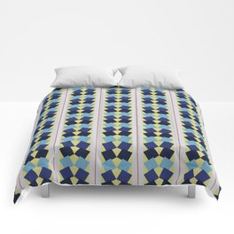 Fanned Squares Comforters