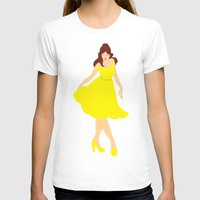belle T-shirts featuring Belle by Eva Duplan Illustrations