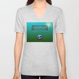 Soccer 2 Unisex V-Neck