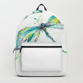 Watercolor Dragonfly Backpack