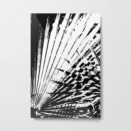Spiked Palm Metal Print