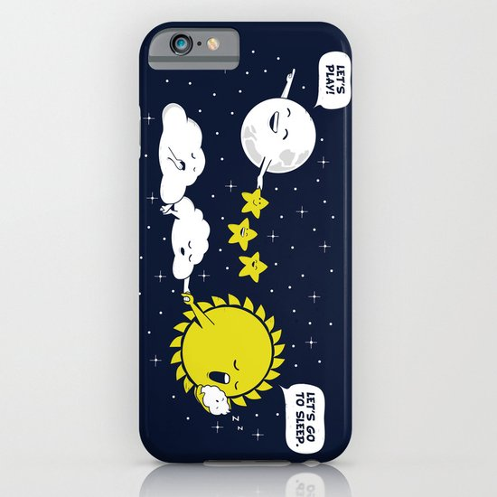 Night time, Day time iPhone & iPod Case