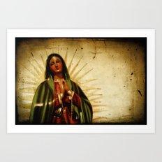 Pray For Us Sinners Art Print