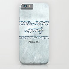 Psalm 23:1 (3D-Blue&White) Slim Case iPhone 6s