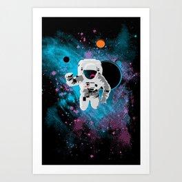 the immeasurable void Art Print