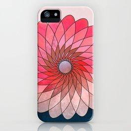 Pink shining gyro iPhone Case