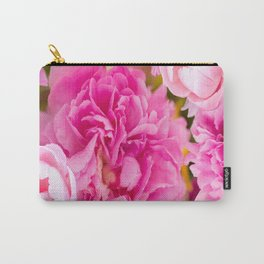 Large Pink Peony Flowers #decor #society6 #buyart Carry-All Pouch