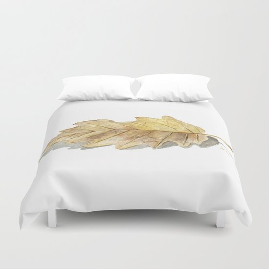 Oak leaf  Duvet Cover