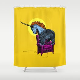Get off the furniture, Unibear Shower Curtain