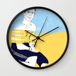 Sur la planche #02 Wall Clock