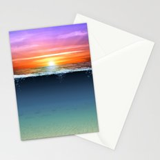 Two Worlds Stationery Cards