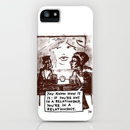 relationshits iPhone Case