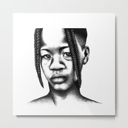 Little boy from Angola Metal Print
