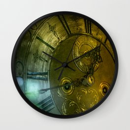Father Time Wall Clock