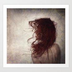 Mothaim Thu Cogarnai (I Hear You Whispering) Art Print