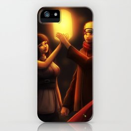 NaruHina Lanterns iPhone Case