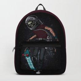 Skull Skater boy. Backpack