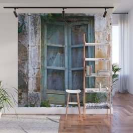 Abandoned Sicilian House in Noto Wall Mural