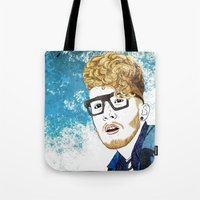 gorillaz Tote Bags featuring Daley by ComfortComfort