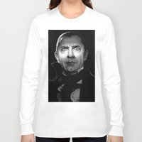 actor Long Sleeve T-shirts featuring Bela Lugosi is Dead by Thubakabra