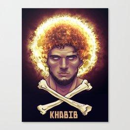 Khabib Time Canvas Print