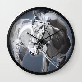 Baltazar II B&W Wall Clock