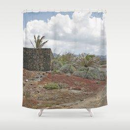 Rural Lanzarote Shower Curtain
