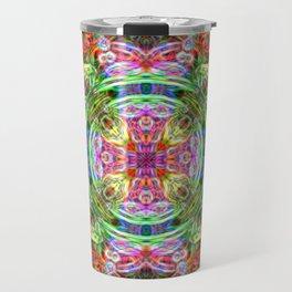 Mandala Bastet of Egypt Travel Mug