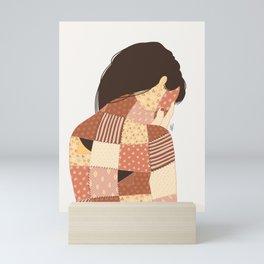 Stitched Mini Art Print