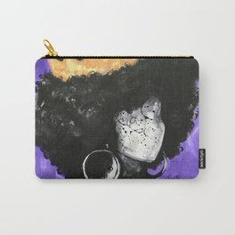 Naturally Queen II PURPLE Carry-All Pouch