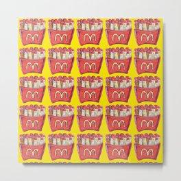 zombie fries Metal Print