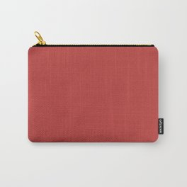 Valiant Poppy | Pantone Fashion Color | Fall : Winter 2018 | New York and London | Solid Color Carry-All Pouch