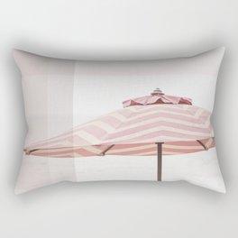 Beach Umbrella I Rectangular Pillow