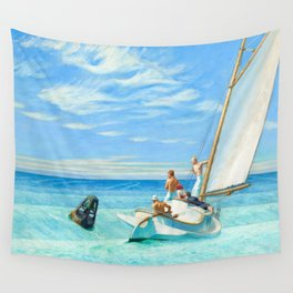 Ground Swell, 1939 by Edward Hopper Wall Tapestry