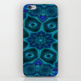 Battling At The Chasm Mandala 13 iPhone Skin