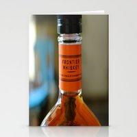 whisky Stationery Cards featuring whisky by Marina Khamhaengwong