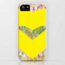 Yellow Mellow Heart and Glory iPhone Case