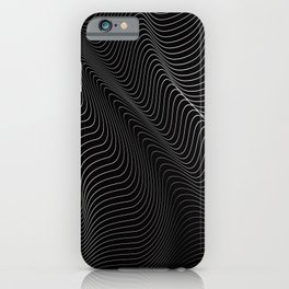 Minimal curves II iPhone Case