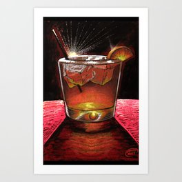 Old Fashioned 2 Art Print