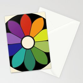 James Ward's Chromatic Circle (interpretation) Stationery Cards