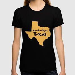 Hello Beautiful Texas T-shirt
