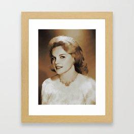Hollywood Legends, Carrol Baker, Actress Framed Art Print